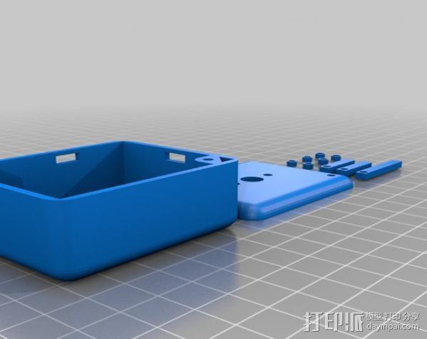 迷你外壳 3D模型  图2