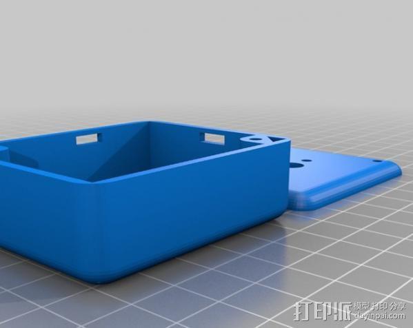 迷你外壳 3D模型  图4