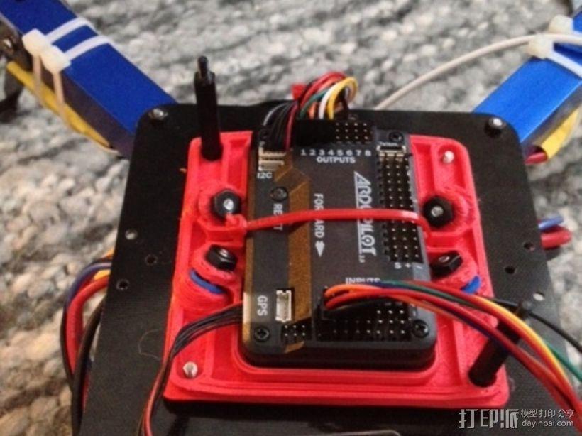 减震安装板 3D模型  图1