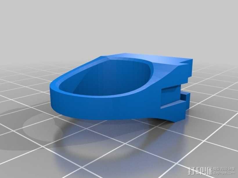 GT3B触发器 3D模型  图2