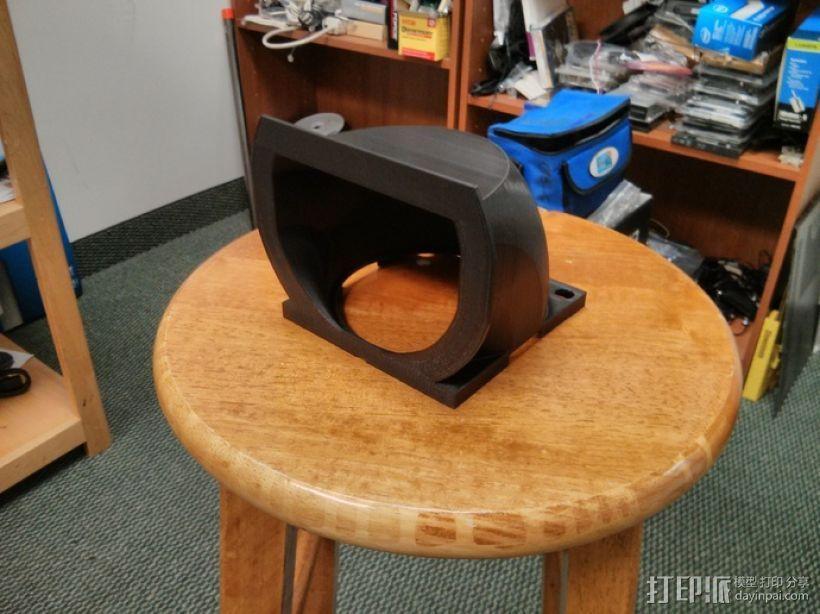 冷风导管 3D模型  图4