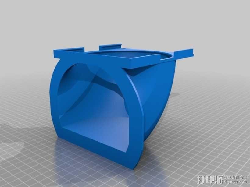 冷风导管 3D模型  图2