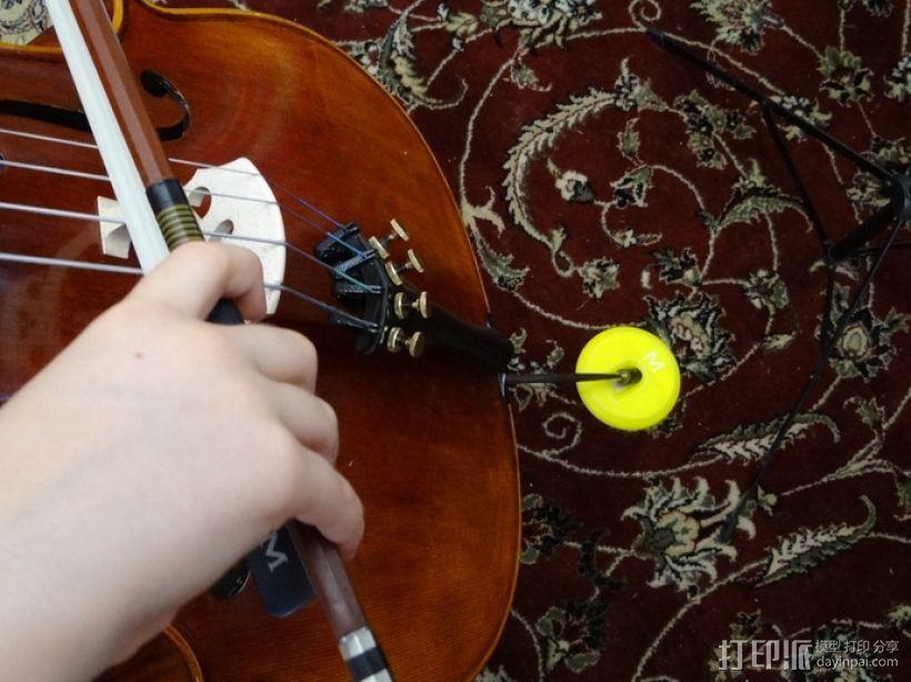 大提琴固定器 3D模型  图1