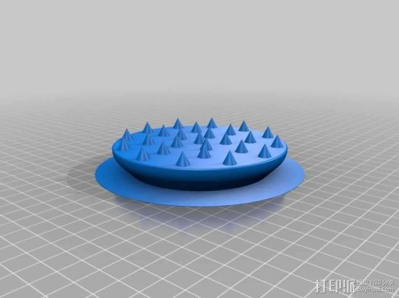 大提琴固定器 3D模型  图3