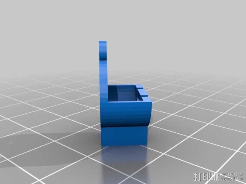 硬币电池背包 3D模型  图3