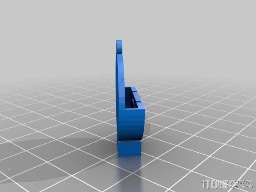 硬币电池背包 3D模型  图4
