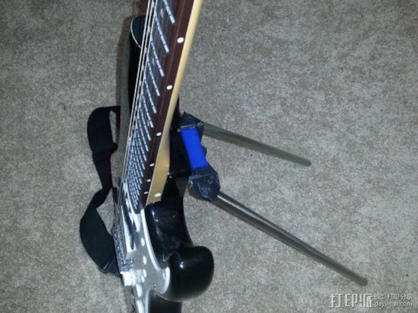 吉他固件 3D模型  图1