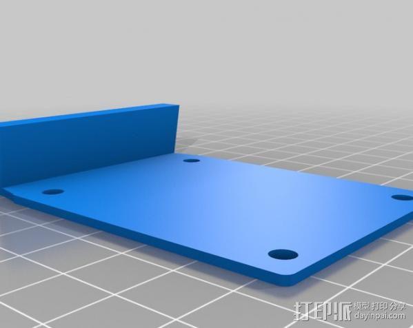 吉他固件 3D模型  图2