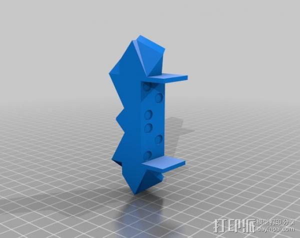 吉他固件 3D模型  图3