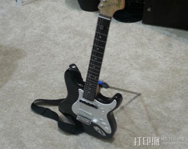 吉他固件 3D模型  图6