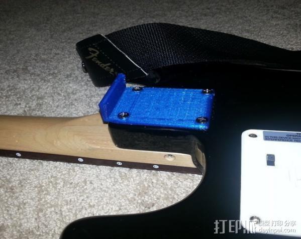 吉他固件 3D模型  图7