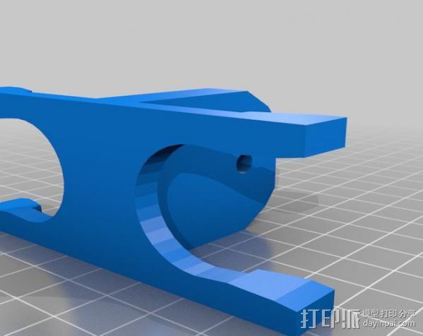 婴儿车置物架 3D模型  图2