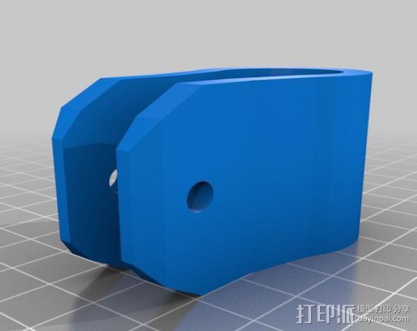 婴儿车置物架 3D模型  图3