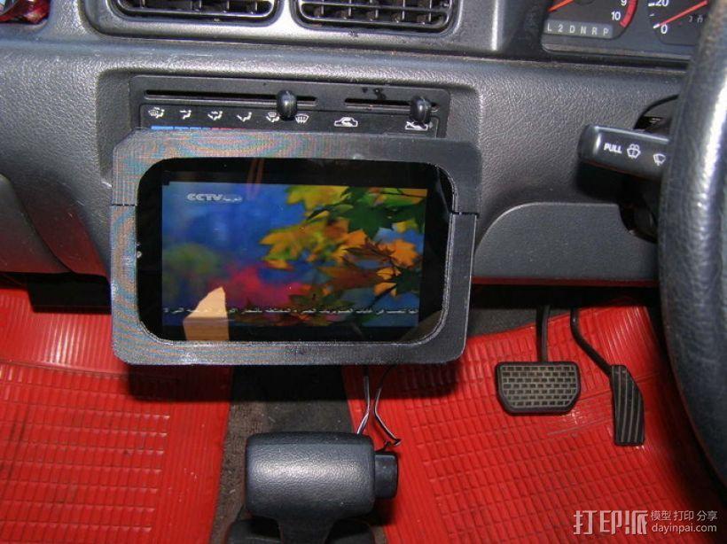 车内置物桌 3D模型  图1