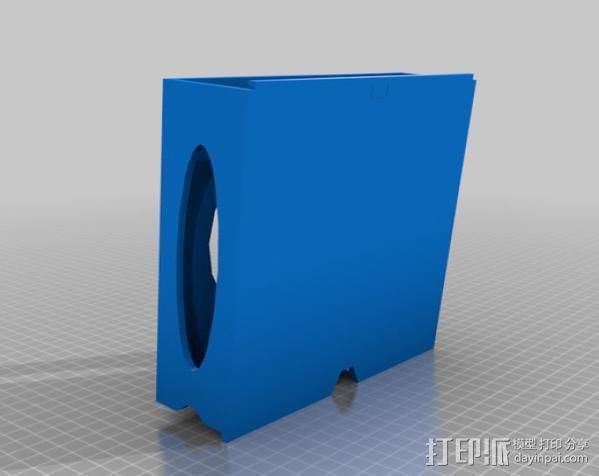 车内置物桌 3D模型  图2