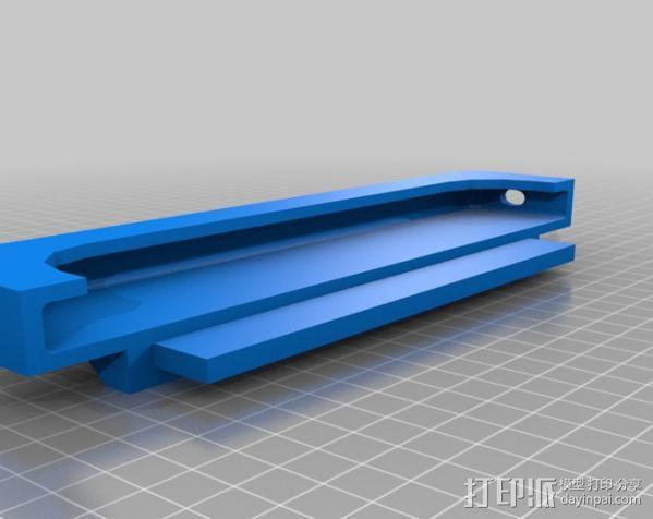 车内置物桌 3D模型  图4
