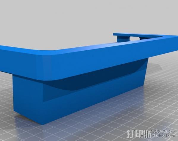 车内置物桌 3D模型  图3