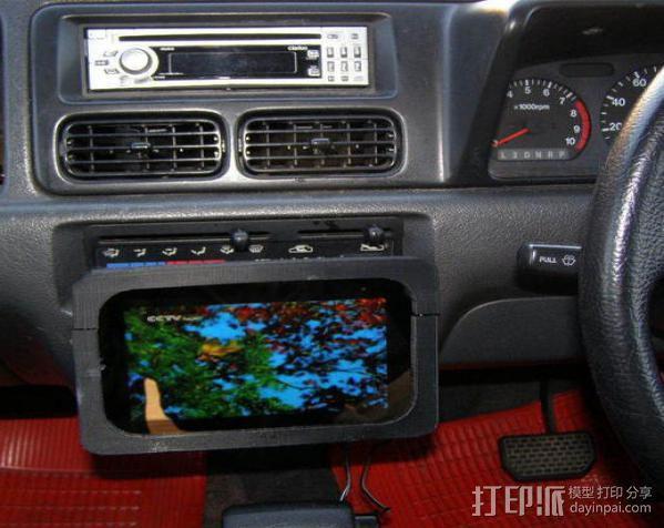 车内置物桌 3D模型  图11