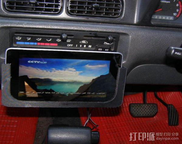 车内置物桌 3D模型  图10