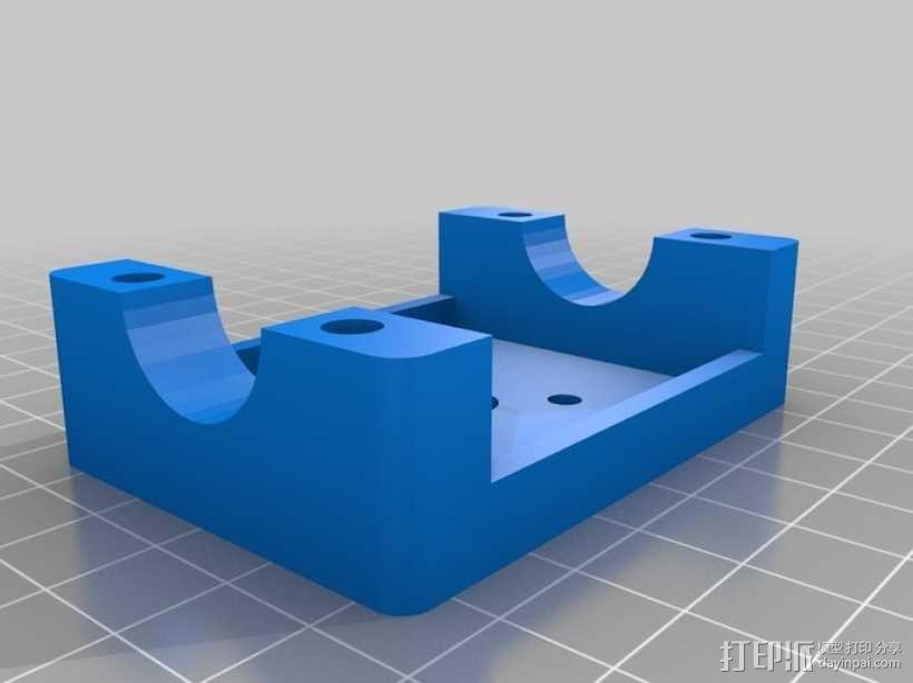电动发动机 3D模型  图2