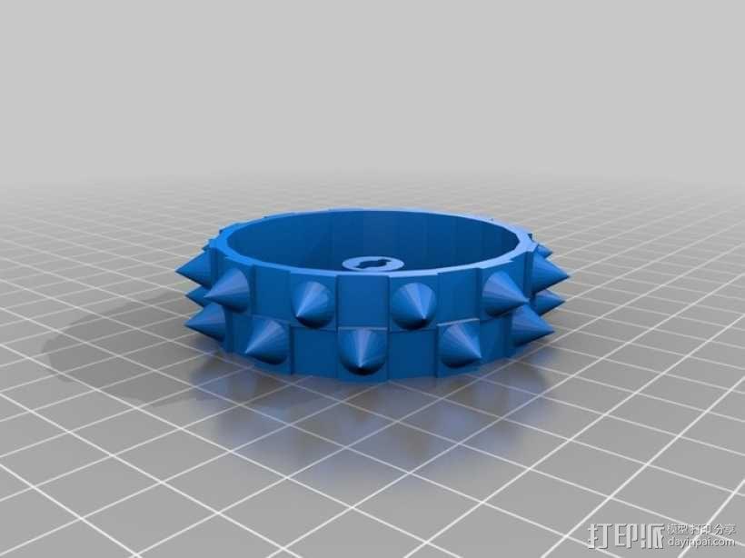钉轮 3D模型  图1