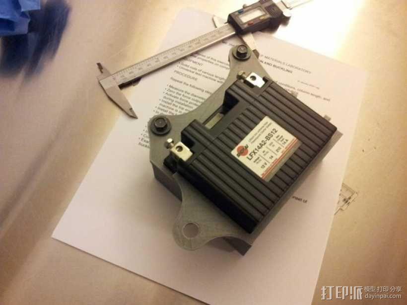 电池盒 3D模型  图5