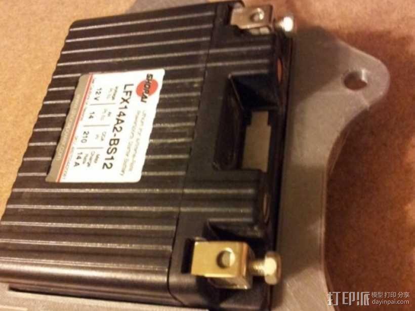电池盒 3D模型  图6