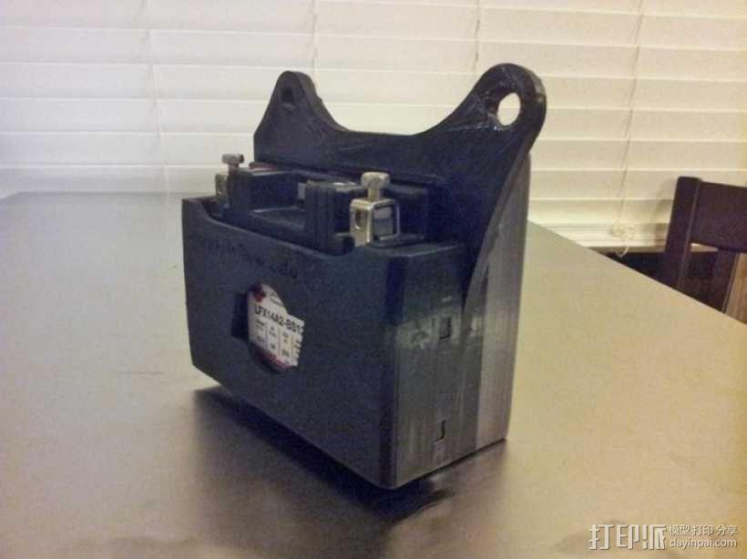 电池盒 3D模型  图10