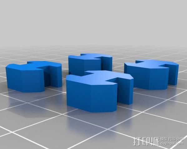 20mm挤压器 3D模型  图1