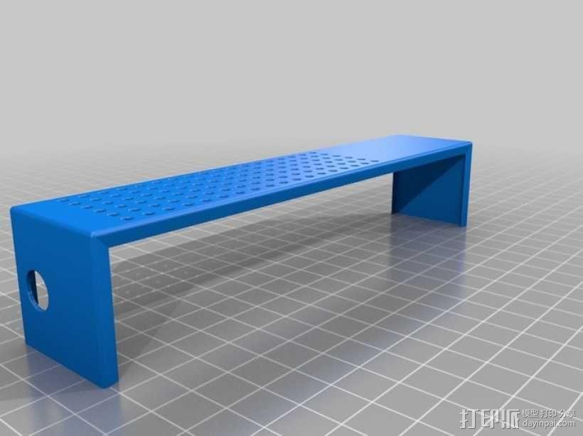 发电机壳子 3D模型  图1