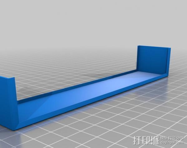 发电机壳子 3D模型  图2