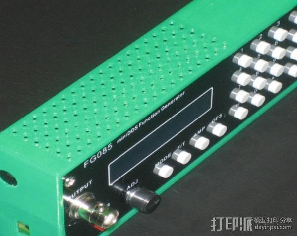 发电机壳子 3D模型  图6