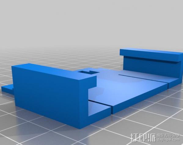 电池夹子 3D模型  图2