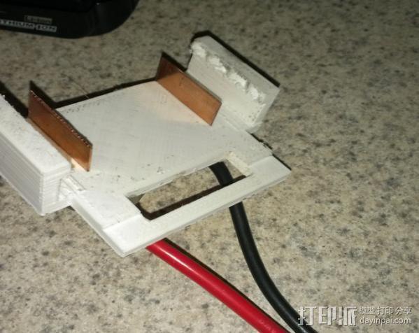 电池夹子 3D模型  图3