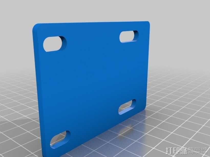 滑板 3D模型  图3