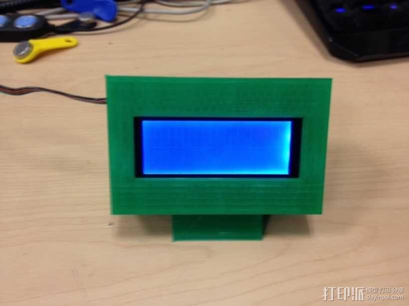 外部展示柜 3D模型  图1