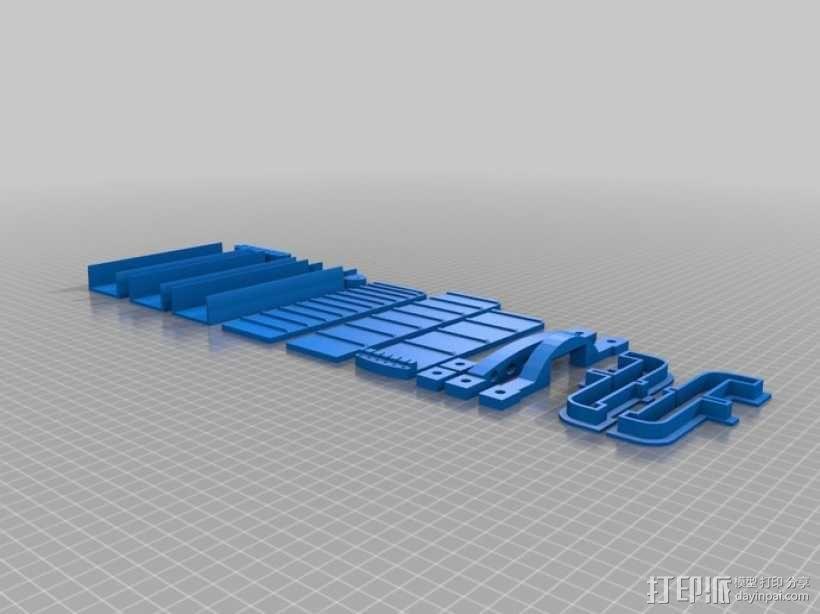 热熔塑料3D打印吉他 3D模型  图5