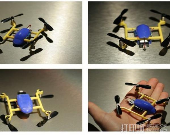 口袋大小的Qwad 3D模型  图3