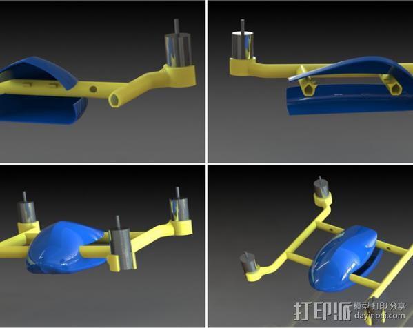 口袋大小的Qwad 3D模型  图2