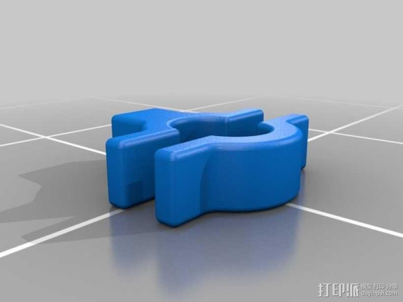 摩托车把手 3D模型  图1