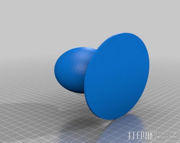 球窝接头 3D模型  图3