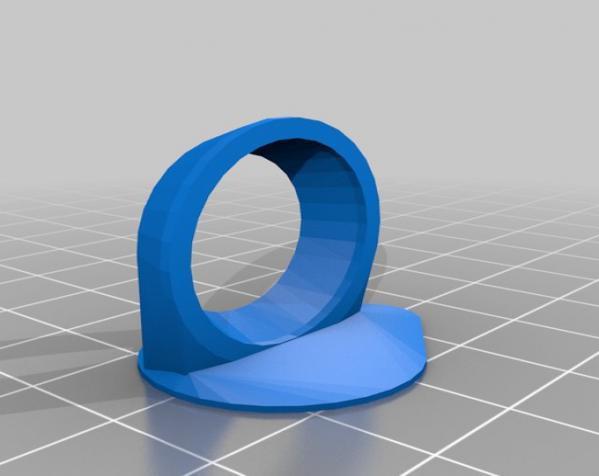 吉他拨片和拇指拨片 3D模型  图3