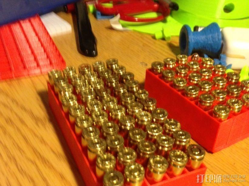 9mm弹药盒 3D模型  图3