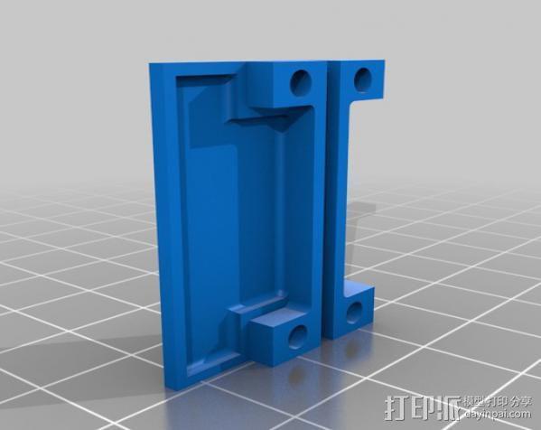 微型组装板 3D模型  图2