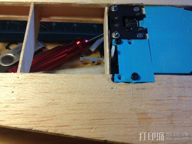 微型组装板 3D模型  图3