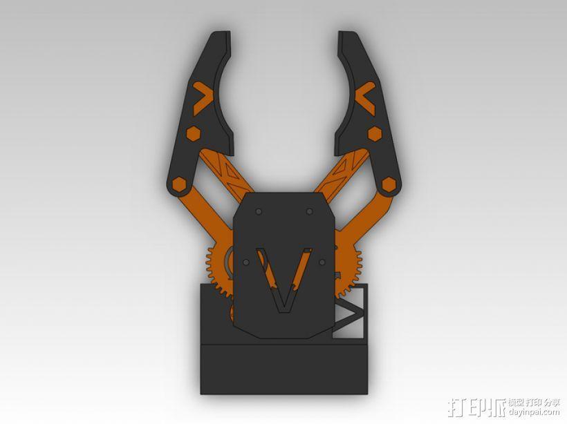 臂抓 3D模型  图3