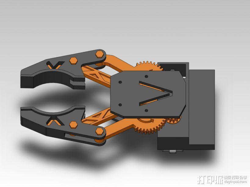 臂抓 3D模型  图8