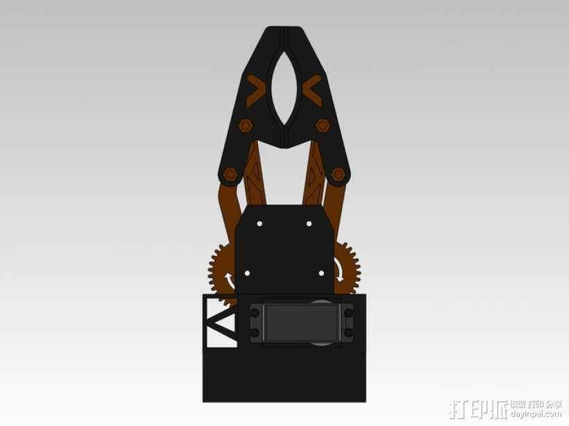 臂抓 3D模型  图6