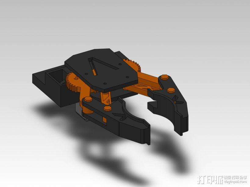 臂抓 3D模型  图7