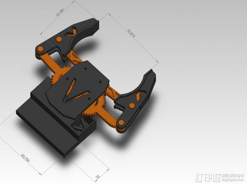 臂抓 3D模型  图9